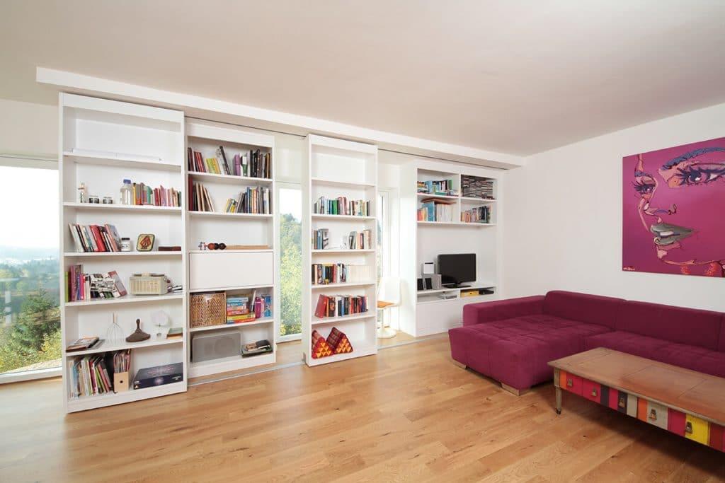 wohnzimmer tischlerei winter. Black Bedroom Furniture Sets. Home Design Ideas