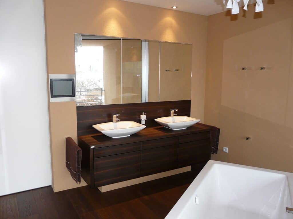badezimmer tischlerei winter. Black Bedroom Furniture Sets. Home Design Ideas
