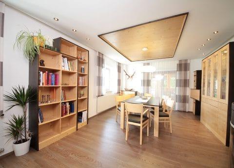 Wohnzimmer Innenausbau Tischler Graz Umgebung