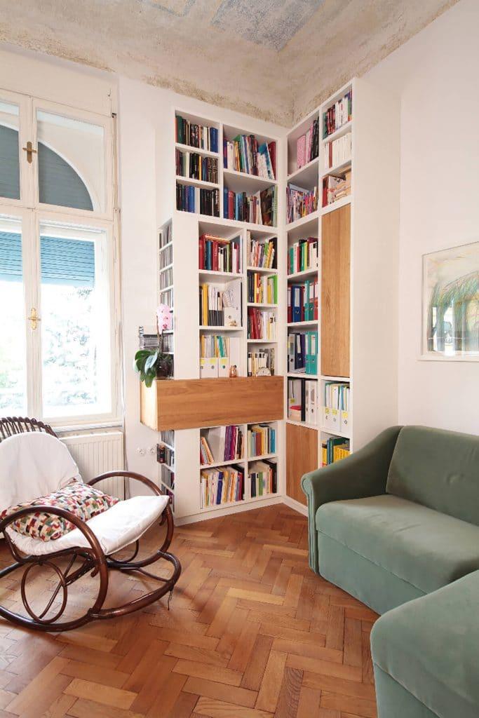 bibliotheken nach ma tischlerei winter. Black Bedroom Furniture Sets. Home Design Ideas