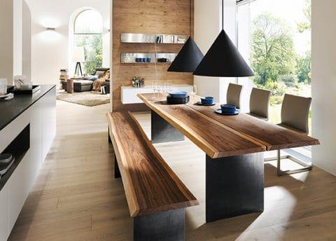 Möbel für den Essbereich aus Massivholz